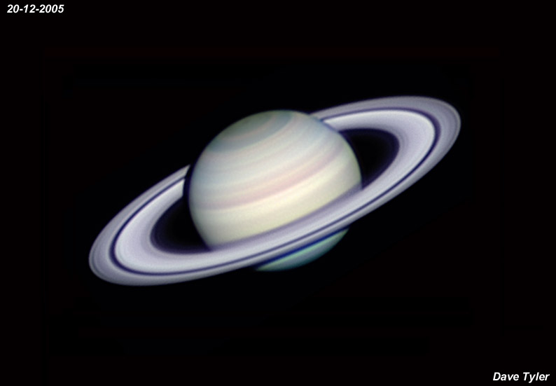 Dave Tyler S Astrophotography Website Saturn Images